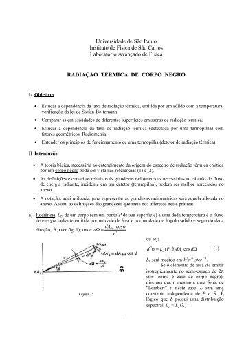Universidade de São Paulo Instituto de Física de São Carlos ... - IFSC