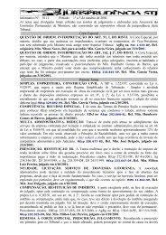 Informativo 111 - Juspodivm