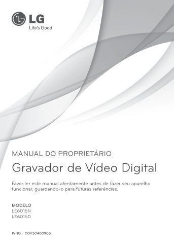 Gravador de Vídeo Digital - Safe World