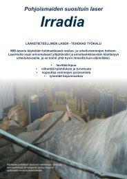 Laser esite - HorseWell
