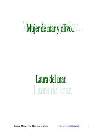 Laura Margarita Medina Murillo Poemas - Rostros y Versos