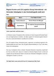 Download (PDF) - LGI Logistics Group International GmbH