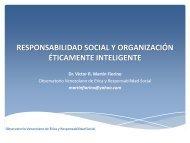 responsabilidad social y organización éticamente inteligente