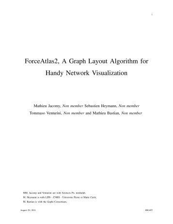 ForceAtlas2, A Graph Layout Algorithm for Handy Network Visualization