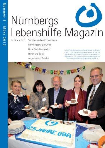 Nummer 1 · März 20 13 - Lebenshilfe Nürnberg