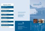 Termine 2012 - Lebenshilfe Rotenburg Verden