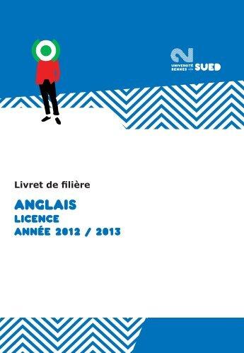 ANGLAIS - Université Rennes 2