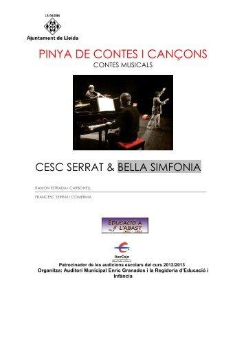 Pinya de contes i cançons - Regidoria d'Educació i Infància