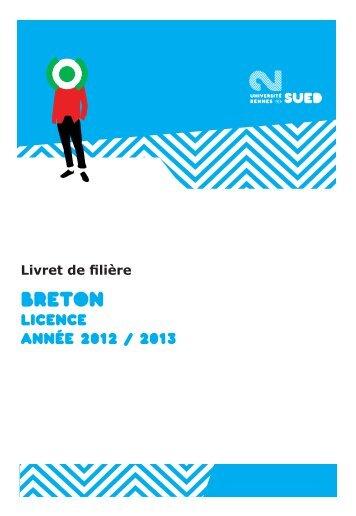 Breton - Université Rennes 2