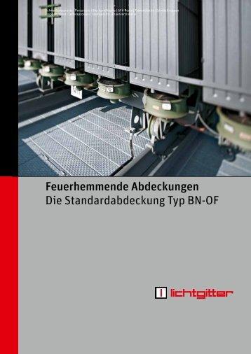 Info-Broschüre Feuerhemmende Abdeckungen ... - Lichtgitter GmbH