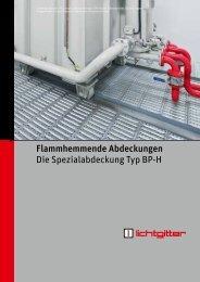Broschüre Flammhemmende Abdeckungen Typ ... - Lichtgitter GmbH