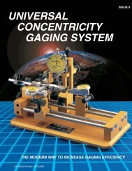 UNIVERSAL CONCENTRICITY GAGING SYSTEM