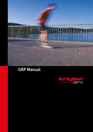 Lichtgitter GRP Manual (PDF)