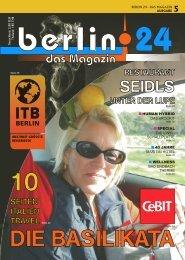 Berlin 24 Das Magazin Ausgabe 5