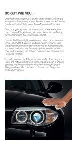 BMW Autohaus Neuhaus - Wellness für Ihren BMW - Seite 2