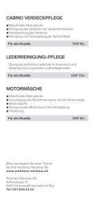 BMW Autohaus Neuhaus - Wellness für Ihren BMW - Seite 6