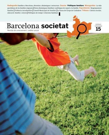 [ pdf ] Barcelona Societat nº 15 - Ajuntament de Barcelona