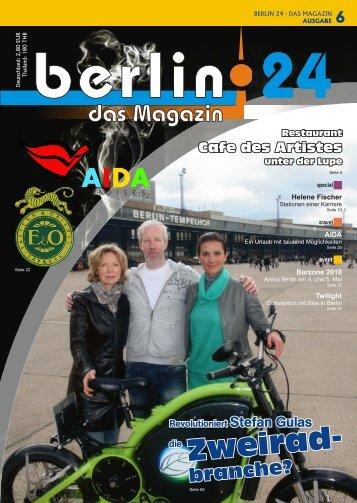 Berlin 24 Das Magazin Ausgabe 6