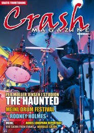 Crash Magazine Nr 1 - Crafton Musik AB