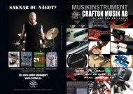 Hela Gitarrkatalogen 2011 - Crafton Musik AB