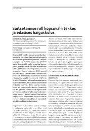 Artikli PDF - Eesti Arst