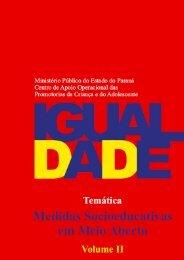 Revista Igualdade - Livro 43: Medidas Socioeducativas - Vol. II