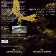 HENNING VON GIERKE - Ludwig Museum Koblenz