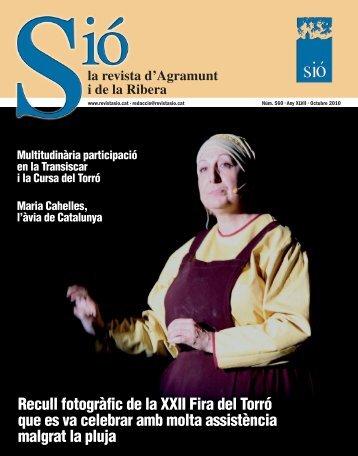 Sió 560. Octubre 2010 - Revista Sió