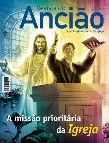 revista do anciao 3 de 2012 - Casa Publicadora Brasileira