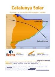 Catalunya Solar - Grup de Científics i Técnics per un futur no nuclear