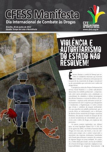 CFESS Manifesta - Dia Internacional de Combate às Drogas