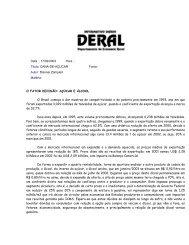 Data : 17/02/2003 Hora : Título: CANA-DE-AÇÚCAR Fonte: Autor ...