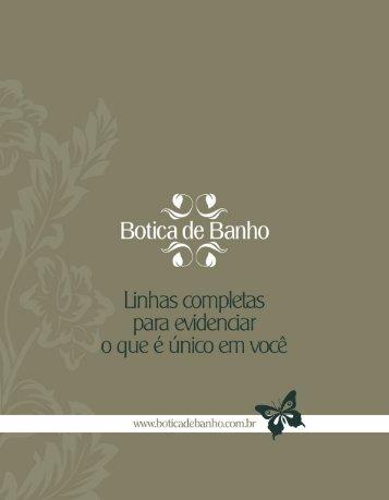 catálogo bb (pdf) - Botica de Banho
