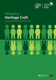 Mapping Heritage Craft