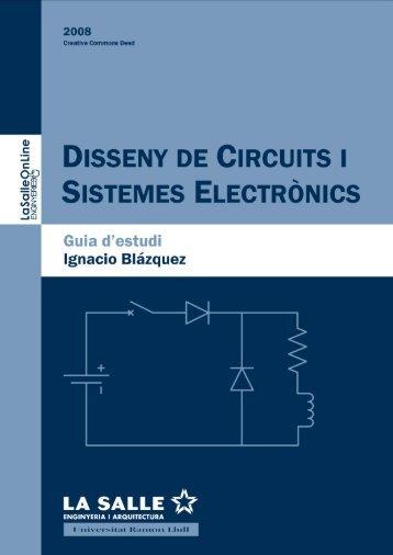 Guia d'estudi: Disseny de Circuits i Sistemes Electrònics - La Salle
