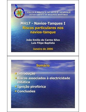 Descargas electrostáticas - Escola Superior Náutica Infante D ...