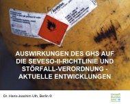 auswirkungen des ghs auf die seveso-ii-richtlinie und störfall ...