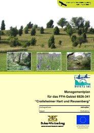 Managementplan für das FFH-Gebiet 6926-341