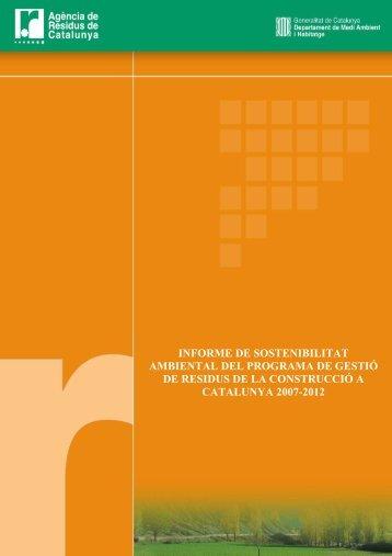 1. A - Agència de Residus de Catalunya
