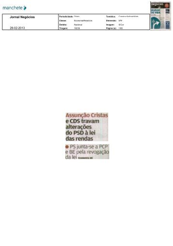 in Jornal de Negócios