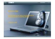 Management Summary - audio & sound branding