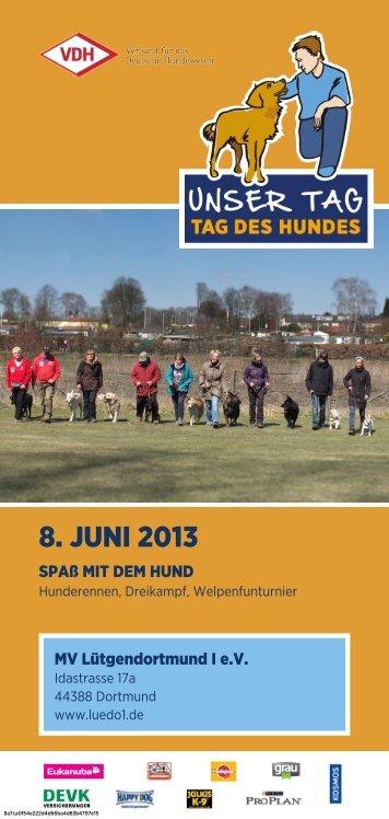 Flyer - MV Dortmund-Lütgendortmund I eV
