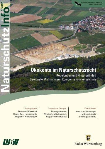 Naturschutz Info 1/2012 - Landesanstalt für Umwelt, Messungen und ...