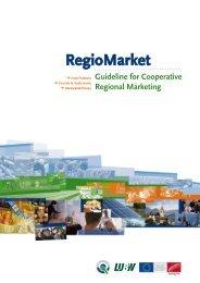 RegioMarket - Guideline for Cooperative Regional Marketing (English)