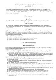 51-01 Satzung für das Jugendamt - Lüneburg