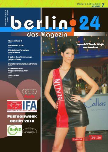 Berlin 24 Das Magazin Ausgabe 7