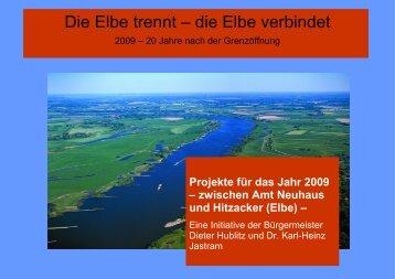 Die Elbe trennt