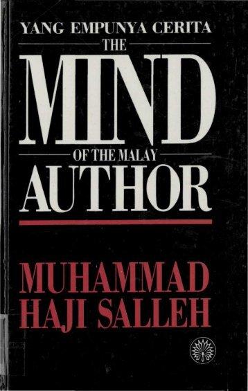 YANG EMPUNYA CERITA THE OF THE MALAY - Perdana Library