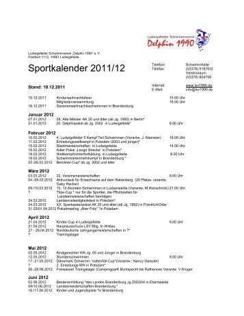 Sportkalender 2011/12 - LSV1990.de