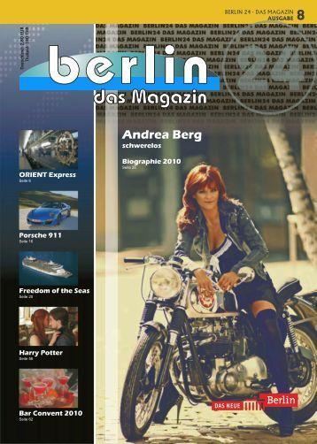 Berlin 24 Das Magazin Ausgabe 8